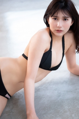 Haruka Arai Black Swimsuit Bikini Stylish and Cute Vol3 2021011
