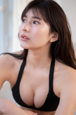 Haruka Arai Black Swimsuit Bikini Stylish and Cute Vol3 2021012