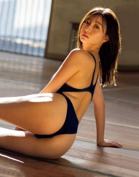 Moeka Hashimoto swimsuit bikini gravure Height 173cm slender, president Imanoyao 2021009
