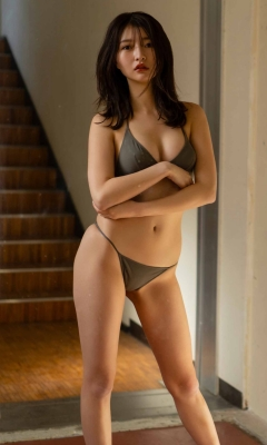 Moeka Hashimoto swimsuit bikini gravure Height 173cm slender, president Imanoyao 2021011
