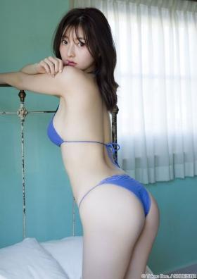 Moeka Hashimoto swimsuit bikini gravure Height 173cm slender, president Imanoyao 2021018