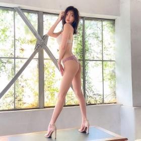 Moeka Hashimoto swimsuit bikini gravure Height 173cm slender, president Imanoyao 2021025