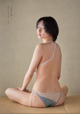 Saka Okada swimsuit bikini gravure Too beautiful mahjong player fascinates yakuman soft skin sexy 2021004