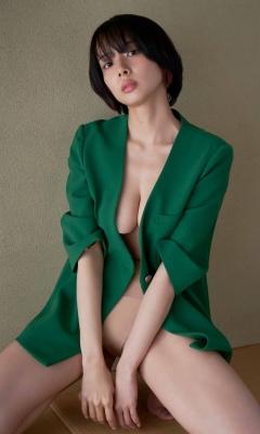 Saka Okada swimsuit bikini gravure Too beautiful mahjong player fascinates yakuman soft skin sexy 2021010