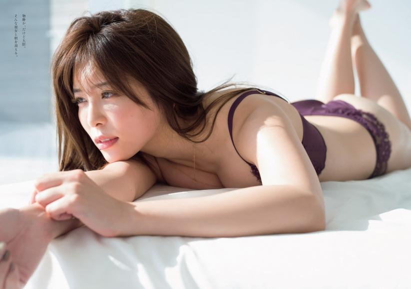 Kaho Momoi Swimsuit Bikini Gravure After Breakfast 2021002