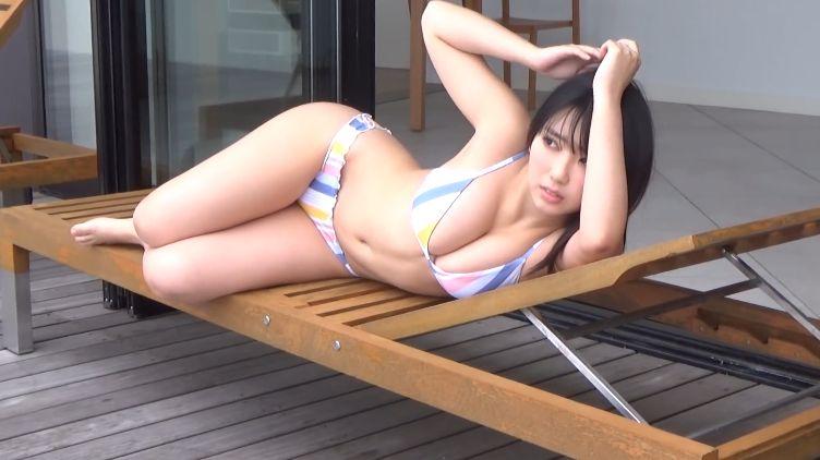 Aika Sawaguchi Swimsuit Bikini Gravure Last JK just before high school graduation 2021025