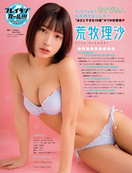 Risa Aramaki swimsuit bikini gravure Too bruising 19 years old001