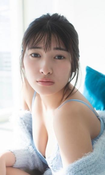 Risa Aramaki swimsuit bikini gravure Too bruising 19 years old004
