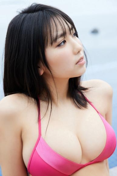 Aika Sawaguchi Swimsuit Bikini Gravure High School Graduation Memorial Vol3011