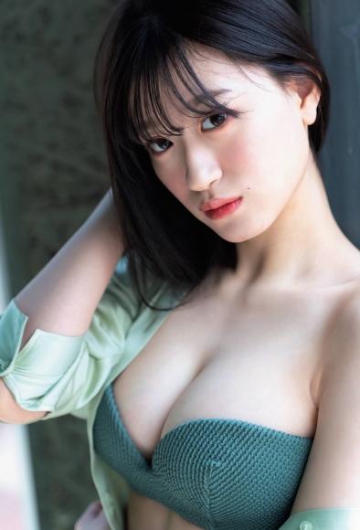 Rei Kaminishi swimsuit bikini gravure First experience adult bunny 2021005