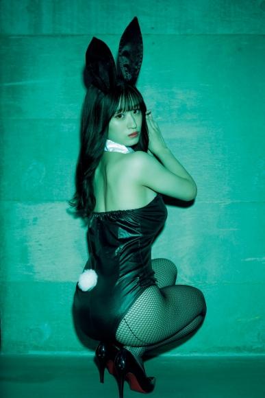 Rei Kaminishi swimsuit bikini gravure First experience adult bunny 2021011