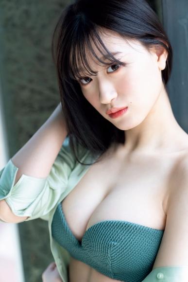 Rei Kaminishi swimsuit bikini gravure First experience adult bunny 2021010