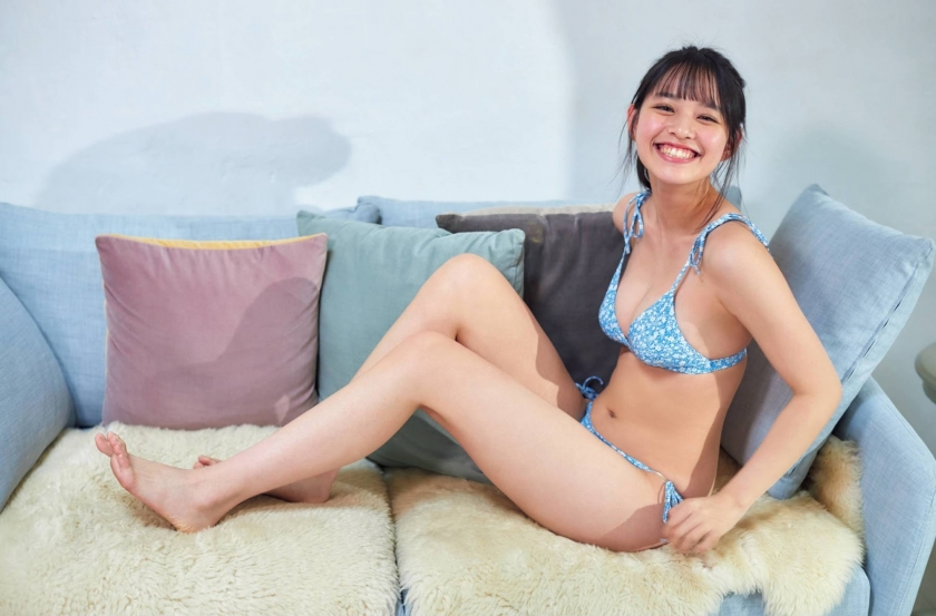 Inoko Reia swimsuit bikini gravure Excellent JK with outstanding style and smile 2021004