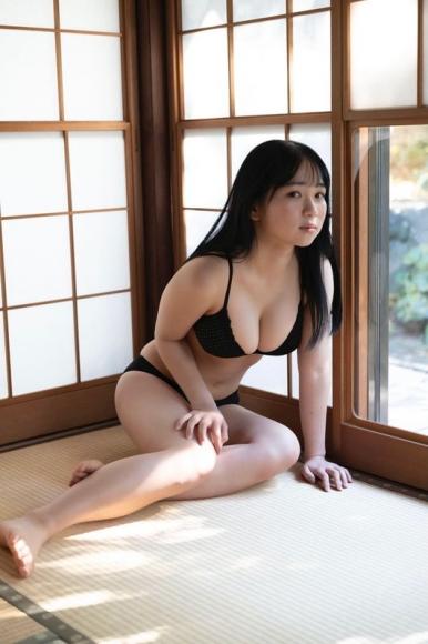 Shiori Ikemoto Swimsuit Bikini Gravure Current high school girl Idols last uniform013
