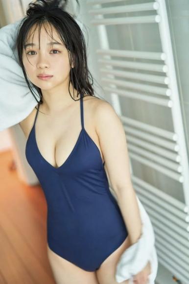 Shiori Ikemoto Swimsuit Bikini Gravure Current high school girl Idols last uniform031