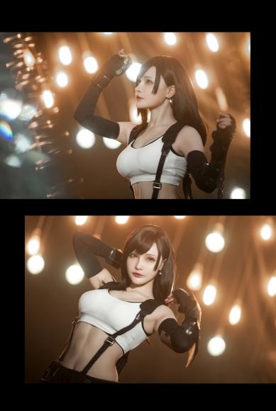 Cosplay Swimsuit Style Costume Tifa Lockhart Final Fantasy VII015