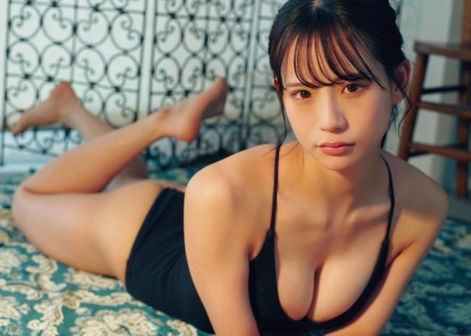 NMB48 Kaiyu Wada swimsuit bikini gravure limpid canvas 2021009