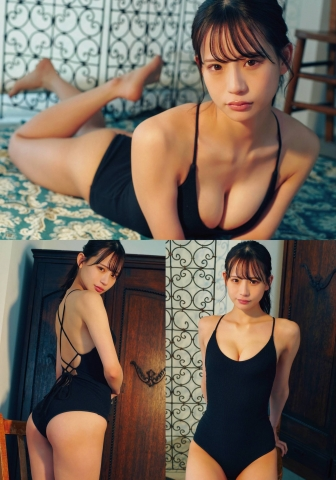 NMB48 Kaiyu Wada swimsuit bikini gravure limpid canvas 2021010