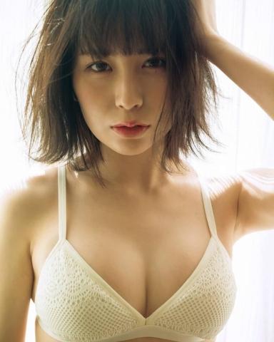 Rin Miyauchi Swimsuit Bikini Gravure Fluffy Love Letter 2021004