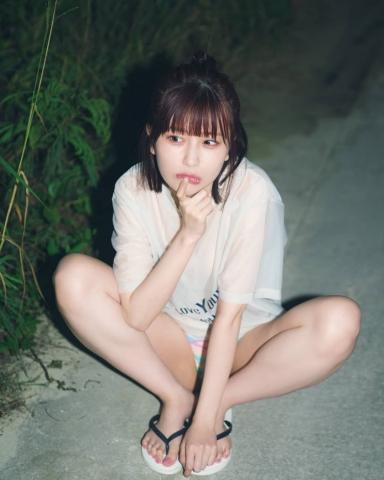 Rin Miyauchi Swimsuit Bikini Gravure Fluffy Love Letter 2021009