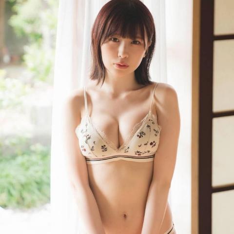 Rin Miyauchi Swimsuit Bikini Gravure Fluffy Love Letter 2021010
