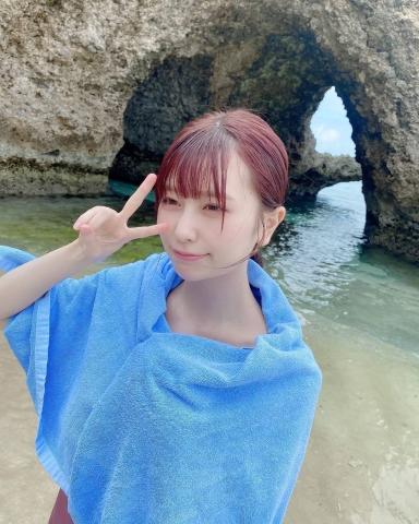 Rin Miyauchi Swimsuit Bikini Gravure Fluffy Love Letter 2021008