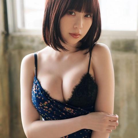 Rin Miyauchi Swimsuit Bikini Gravure Fluffy Love Letter 2021011