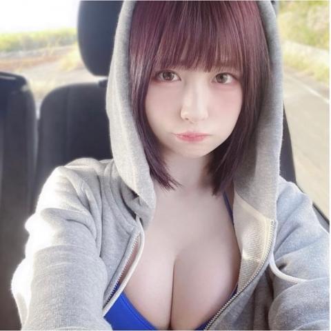 Rin Miyauchi Swimsuit Bikini Gravure Fluffy Love Letter 2021019