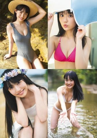Yuri Abe Shiori Nagao Swimsuit Bikini Gravure Two Crossings Uniform 2021003