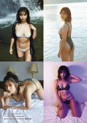 Iroha Yanagi swimsuit bikini gravure After getting married in 2019Im not going to give anything away002
