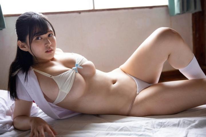 Ichihana Miri Swimsuit Bikini Gravure All we need is their picture 2021005