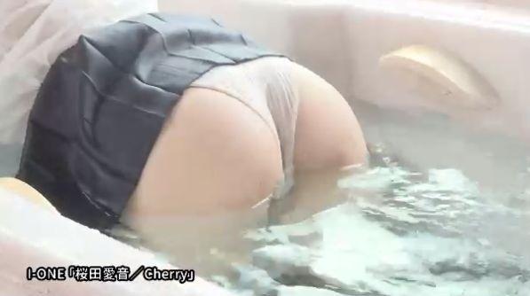 Aine Sakurada swimsuit bikini gravure Beautiful body boasting Gcup breasts 2021017