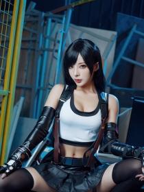 Cosplay Swimsuit Style Costume Tifa Lockhart Final Fantasy VII Remake002