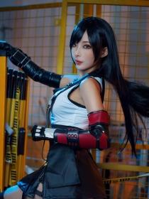 Cosplay Swimsuit Style Costume Tifa Lockhart Final Fantasy VII Remake005