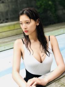 Angela Mei swimsuit underwear gravure best G cup boobs010