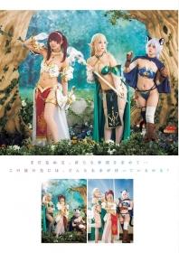 Enako Moe Iori and Kokoro Shinozaki This is the area where the three cosplayers personalities explode013