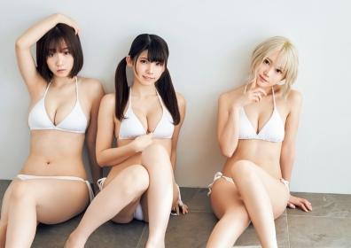 Enako Moe Iori and Kokoro Shinozaki This is the area where the three cosplayers personalities explode015