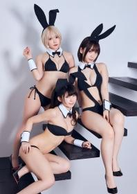 Enako Moe Iori and Kokoro Shinozaki This is the area where the three cosplayers personalities explode018