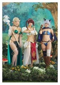 Enako Moe Iori and Kokoro Shinozaki This is the area where the three cosplayers personalities explode019