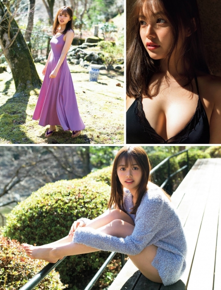 Nanami Mori swimsuit bikini gravure Hot spring trip for two celebrating 20 years old002