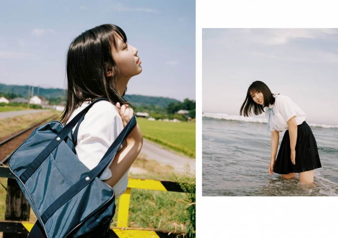 Aika Sawaguchi Swimsuit Bikini Gravure Your summer is 018