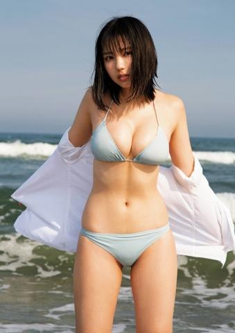 Aika Sawaguchi Swimsuit Bikini Gravure Your summer is 020