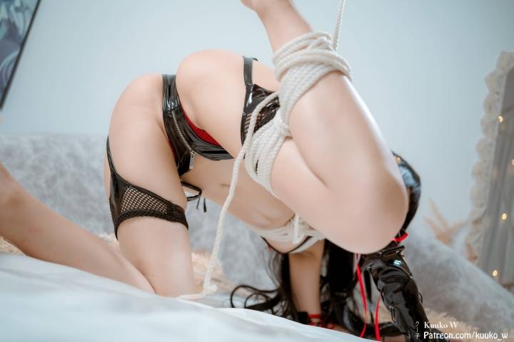 Swimsuit Bikini Gravure Female Tengu Dead or Alive 5 Ultimate Arcade Cosplay005