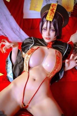 extreme exposure cosplay jiangsheng corpse princess vs berserker Fate Fate Valkyria tachi no ring dance015