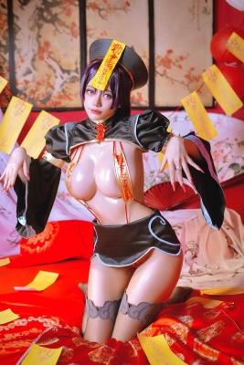 extreme exposure cosplay jiangsheng corpse princess vs berserker Fate Fate Valkyria tachi no ring dance021