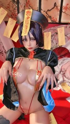 extreme exposure cosplay jiangsheng corpse princess vs berserker Fate Fate Valkyria tachi no ring dance039