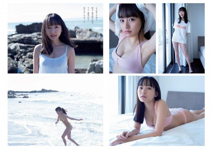 Kanami Takasaki Swimsuit Bikini Gravure Spring Slumber 2021002