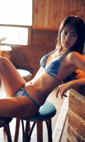 Seiko Kirishima swimsuit bikini gravure I always try to be a naughty girl in my gravure 2021009