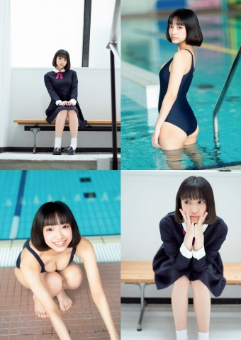 Tenshi Momo Swimsuit Bikini Gravure Soared to the ground, my own personal Sukusui Angel 2021002