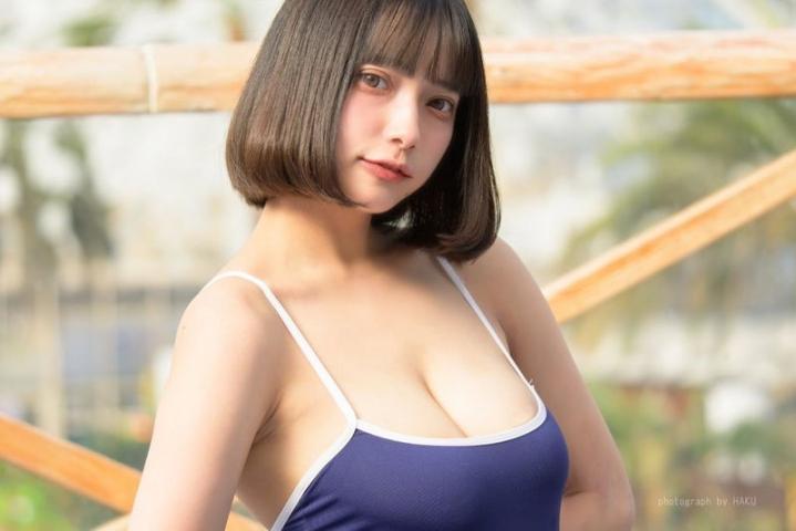 Tenshi Momo School swimsuit gravure 2021006